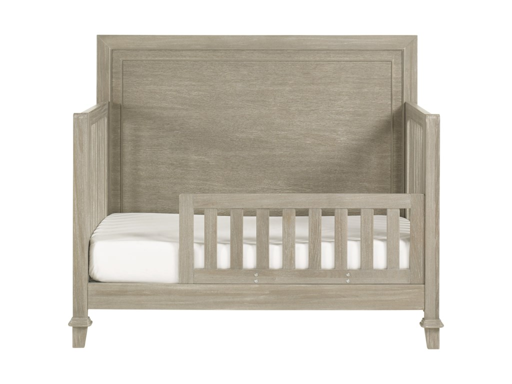 Axis Convertible Crib With Toddler Rail Morris Home Cribs