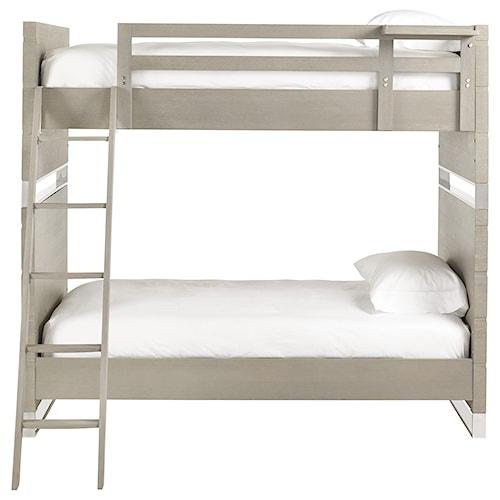 Smartstuff Axis Twin Bunk Bed With Top Bunk Shelf Sprintz