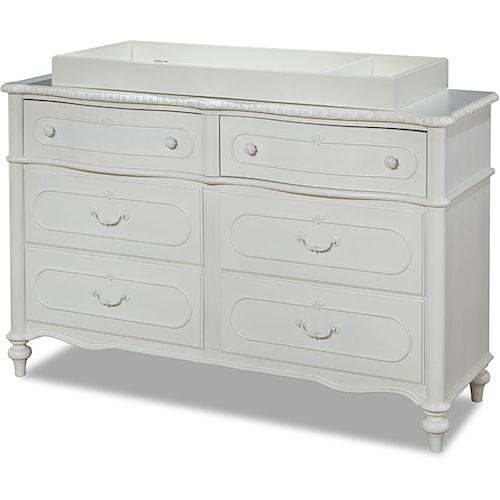 Smartstuff Bellamy 6-Drawer Dresser with Changing Station