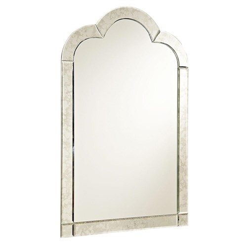 Smartstuff Bellamy Venetian Mirror with Antique Mirror Frame