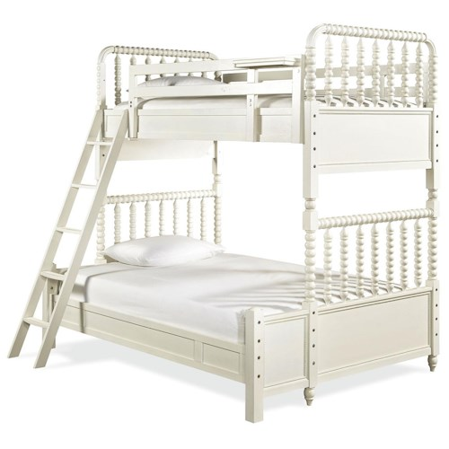 Smartstuff Bellamy Vintage Bunk Bed with Twin Over Full Bed