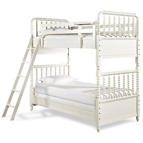 Smartstuff Bellamy Vintage Bunk Bed with 2 Twin Beds