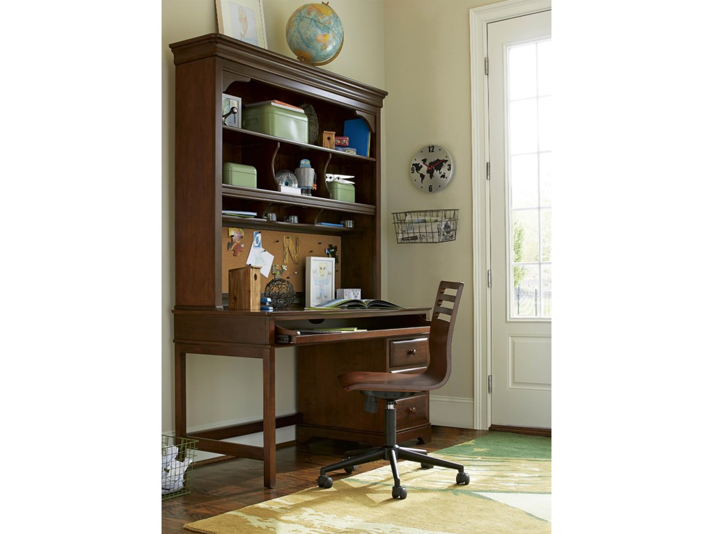 Morris Home Classics 4.0Desk with Hutch