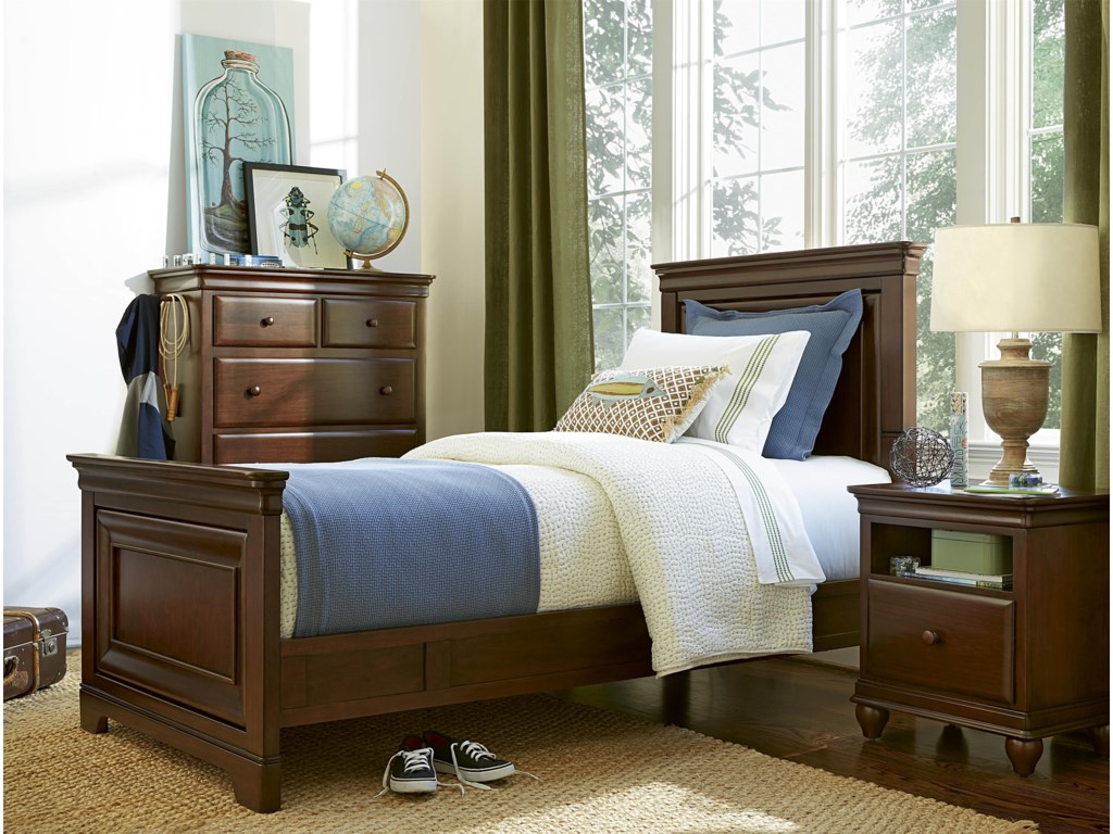Morris Home Classics 4.0Twin Panel Bed