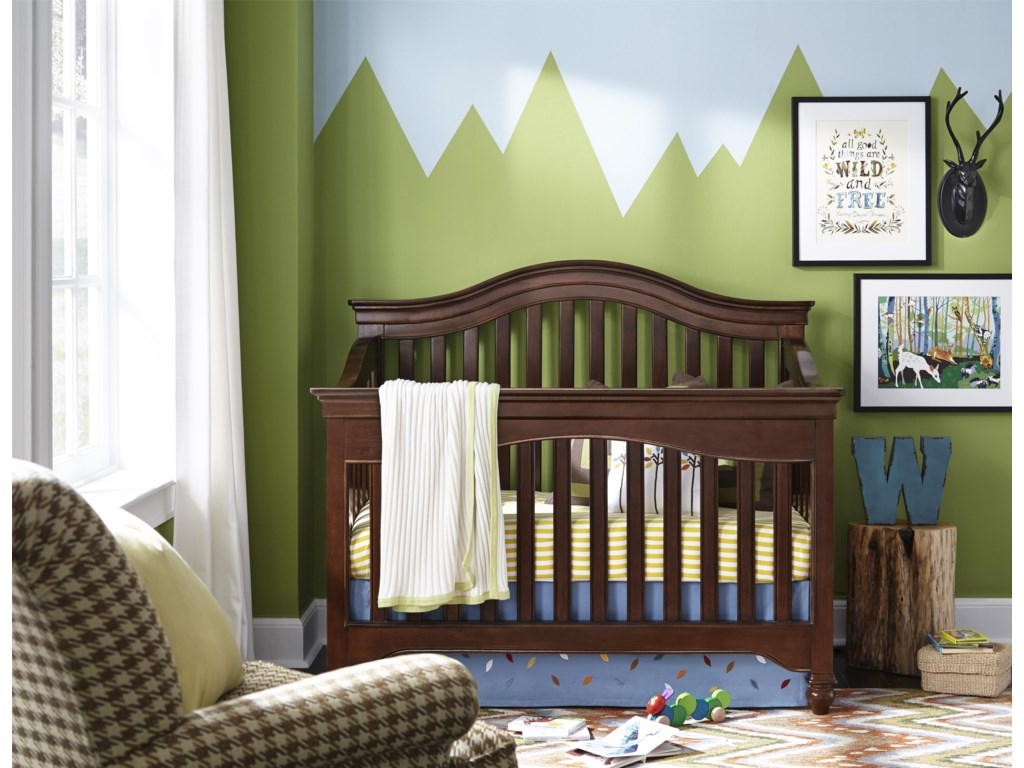 Smartstuff Classics 4.0Convertible Crib with Toddler Rail