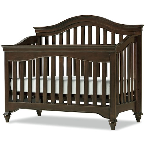 Smartstuff Classics 4.0 Convertible Crib with Arched Back