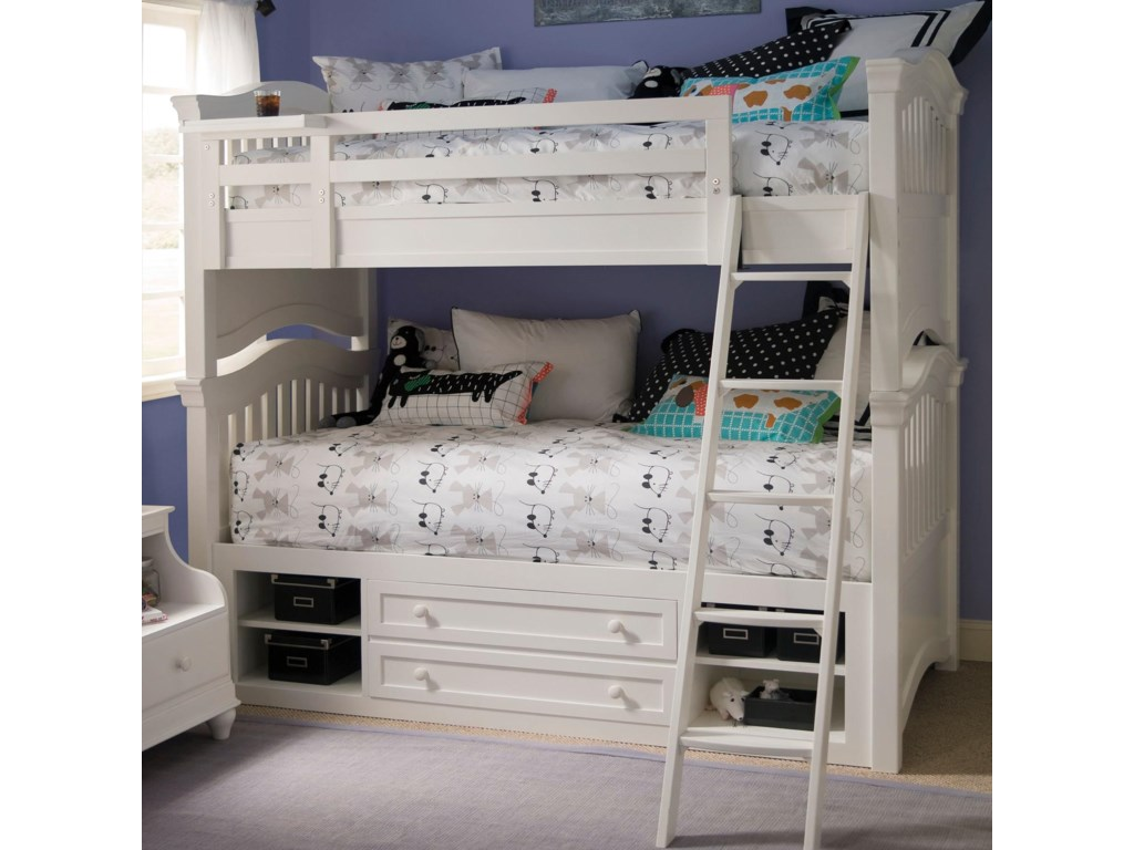 Smartstuff Classics 4.0Twin Storage Bunk Bed