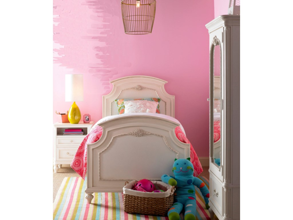 Shown with Panel Bed and Nightstand
