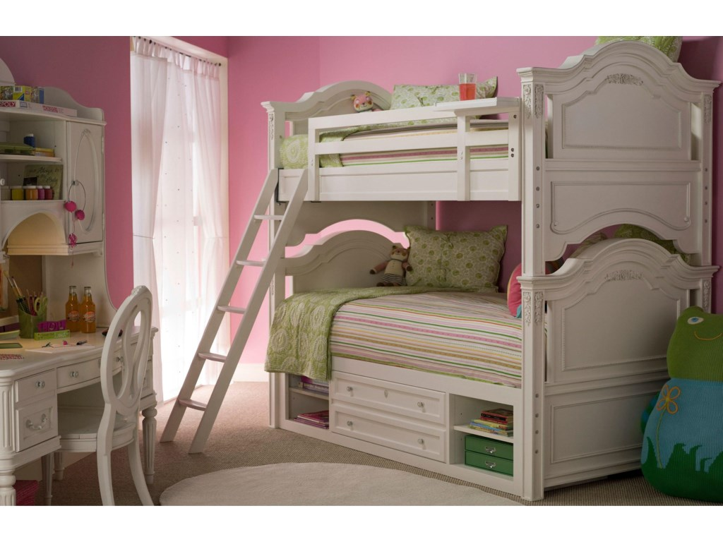 Shown with Hutch, Storage Chair, and Bunk Beds with Storage