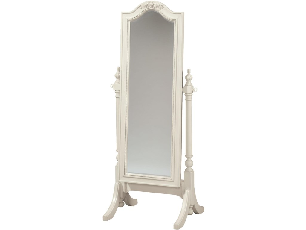 Smartstuff Gabriella Cheval Floor Mirror with Sliding Front for ...