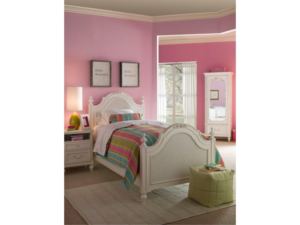 Shown with Low-Post Bed and Armoire