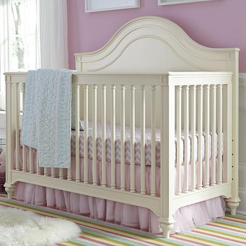 Smartstuff Gabriella Convertible Crib with Tapered Bun Feet