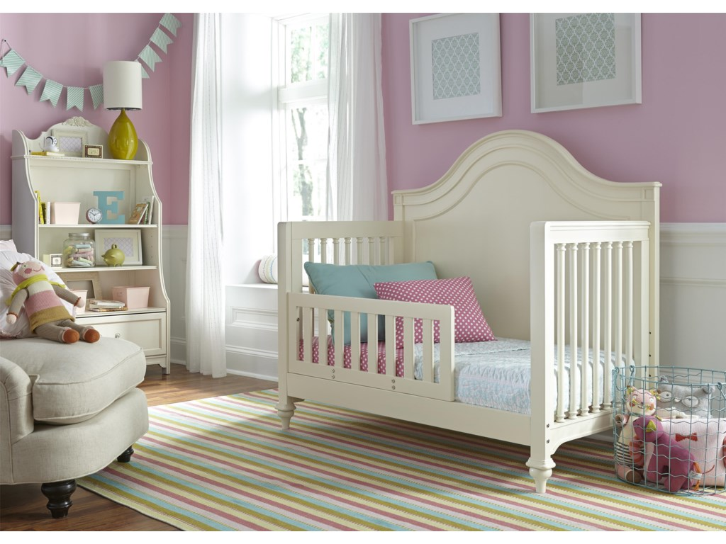 Crib Can be Converted to a Toddler Bed with Additional Purchase of Toddler Rail