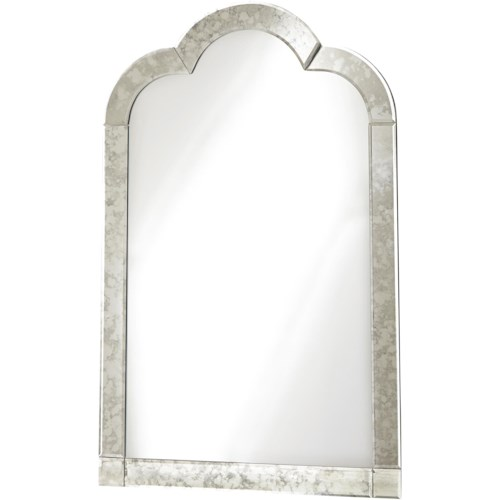 Smartstuff Genevieve Venetian Mirror with Antique Mirror Outer Frame