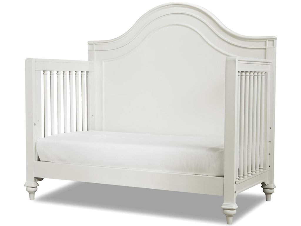 Smartstuff GenevieveConvertible Crib with Toddler Rail