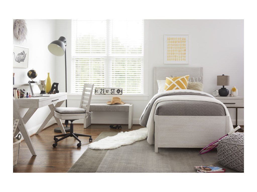 Morris Home Modern SpiritTwin Complete Reading Bed