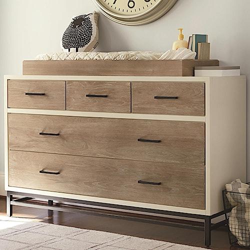 Smartstuff #myRoom 5-Drawer Dresser with Changing Station