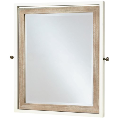 Smartstuff #myRoom Tilt Mirror with Beveled Glass