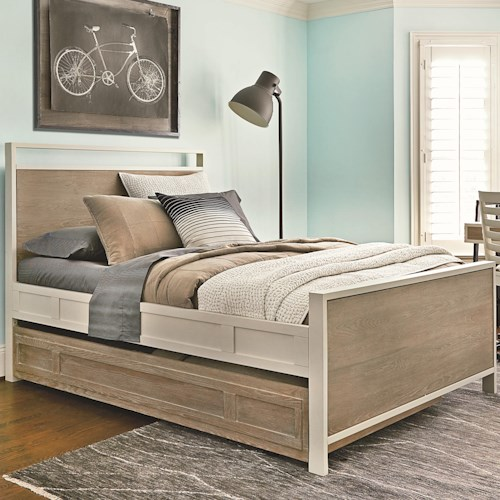 Smartstuff #myRoom Full Panel Bed with Trundle