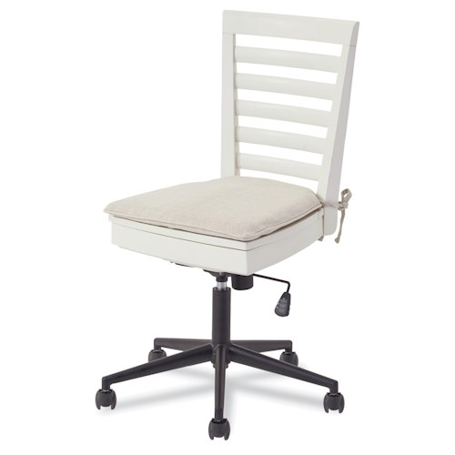 Smartstuff #myRoom Swivel Desk Chair with Lift-Lid Seat Storage