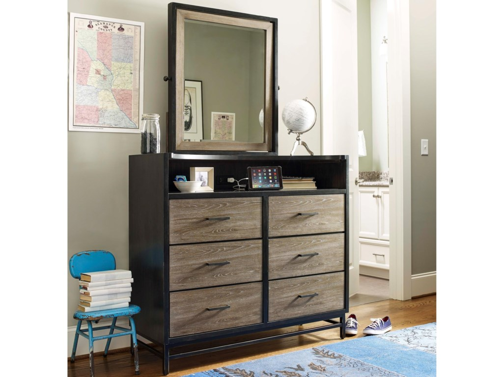 Smartstuff #myRoomDressing Chest and Mirror Set