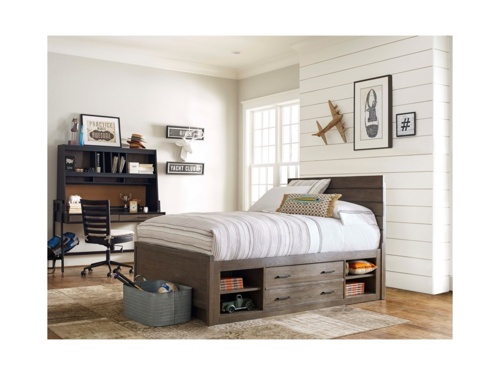 Smartstuff #myRoomTwin Reading Bed with Underbed Storage