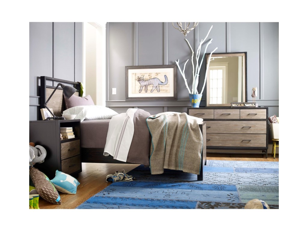 Smartstuff #myRoomTwin Panel Bed