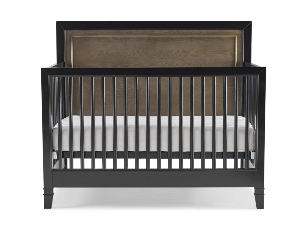 Crib for sale orlando fl - Smartstuff Myroom Two Tone Convertible Crib With Toddler Rail Hudson S Furniture Cribs