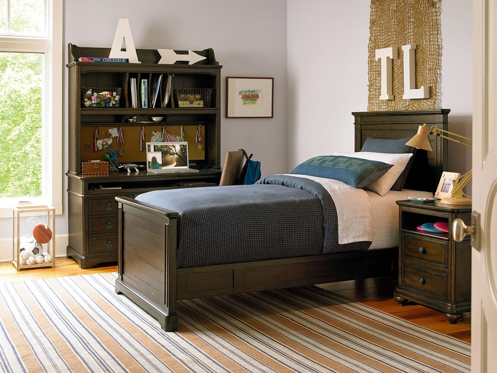 Morris Home Pine ValleyTwin Panel Bed