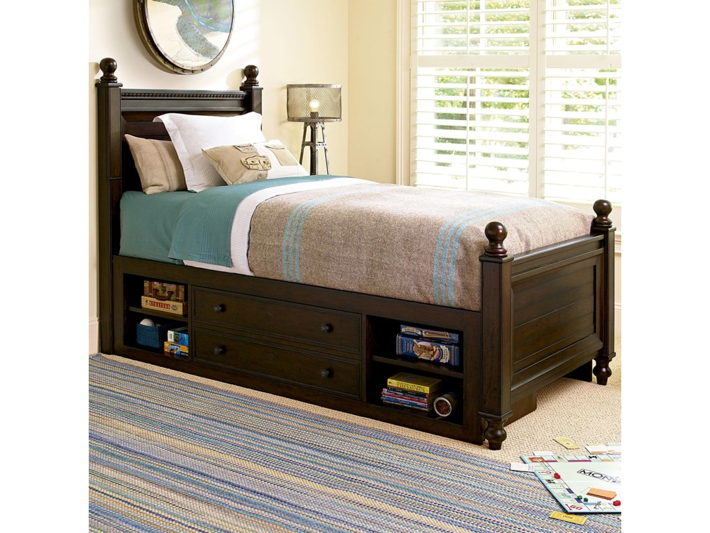 Smartstuff GuysTwin Guy's Reading Bed with Storage Unit
