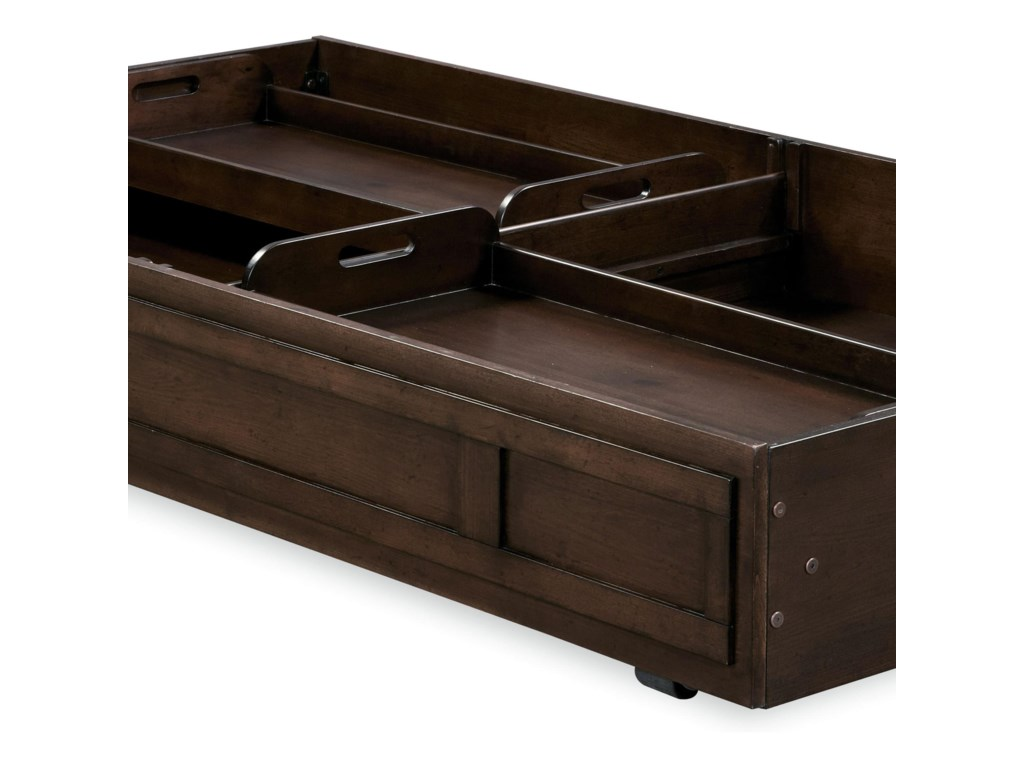 Morris Home Pine ValleyFull Guy's Reading Bed with Trundle