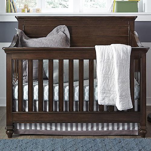 Smartstuff Paula Deen - Guys Convertible Crib with Tapered Bun Feet