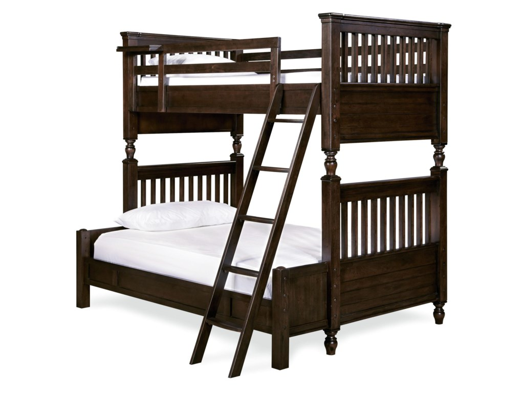 Morris Home Pine ValleyPine Valley Twin/Full Bunk Bed