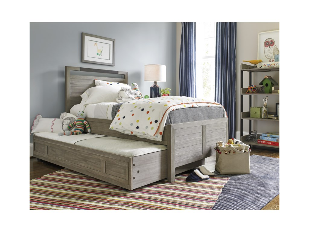 Smartstuff ScrimmageFull Panel Bed with Trundle