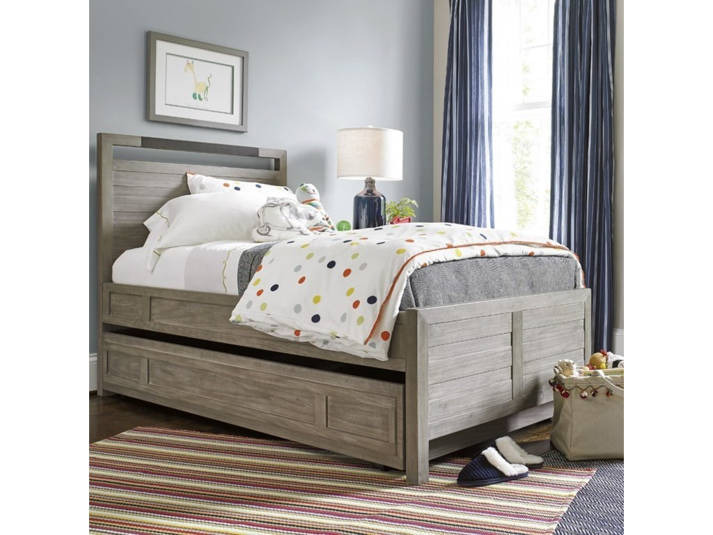 Smartstuff ScrimmageTwin Panel Bed with Trundle
