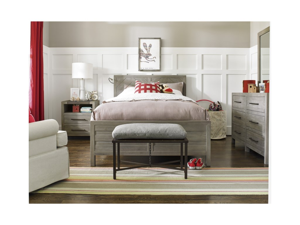 Morris Home ScrimmageFull Reading Bed
