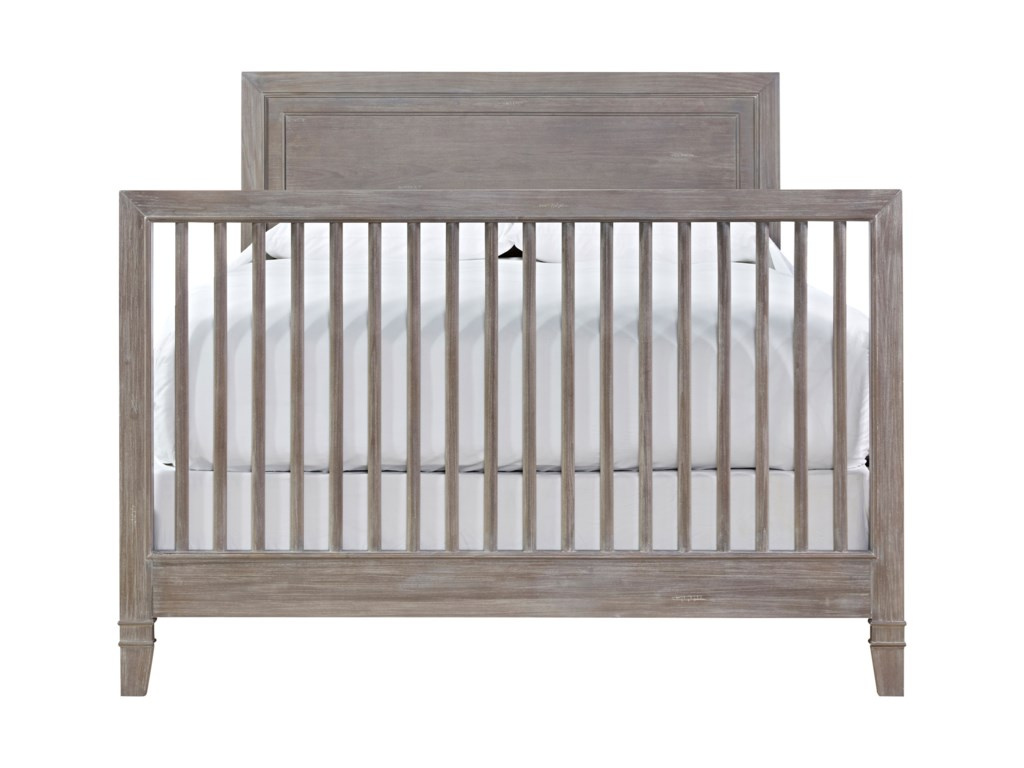 Morris Home ScrimmageConvertible Crib with Toddler Rail