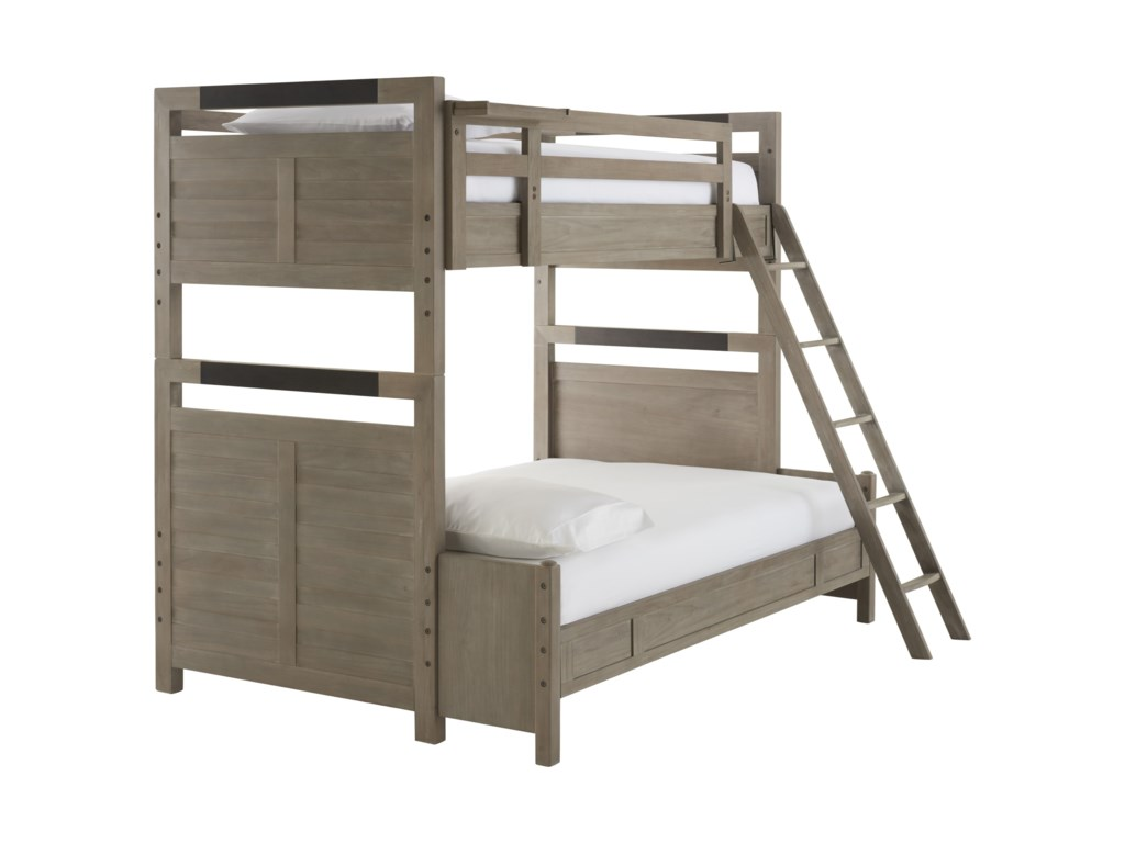 Smartstuff ScrimmageTwin to Full Bunk Bed