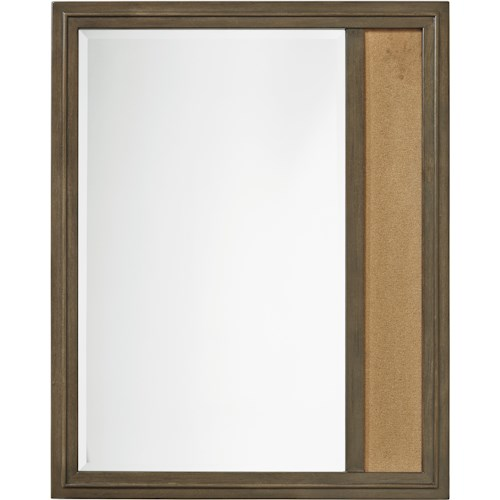 Smartstuff Varsity Memory Mirror with Corkboard Panel