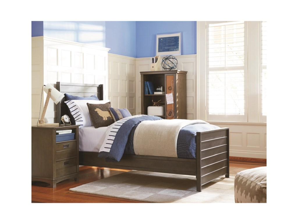 Smartstuff VarsityTwin Metal Panel Bed