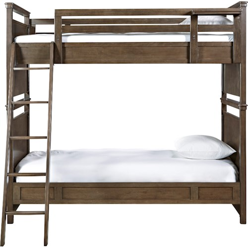 Smartstuff Varsity Twin All American Bunk Bed with Ladder