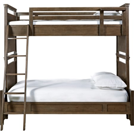 Twin Over Full All American Bunk Bed