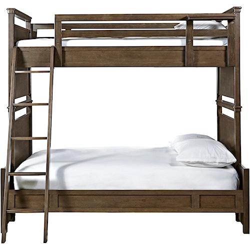 Smartstuff Varsity Twin Over Full All American Bunk Bed