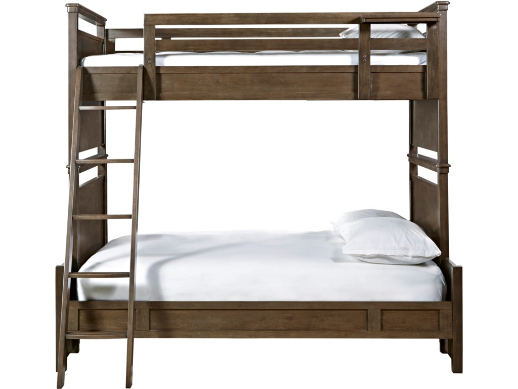 Smartstuff VarsityTwin Over Full All American Bunk Bed