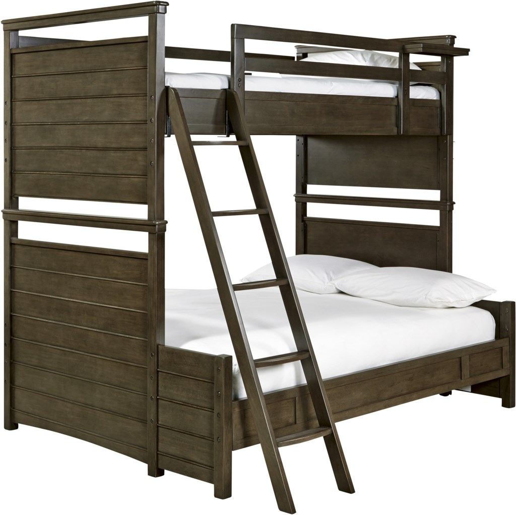 varsity twin over full all american bunk bed morris home bunk beds