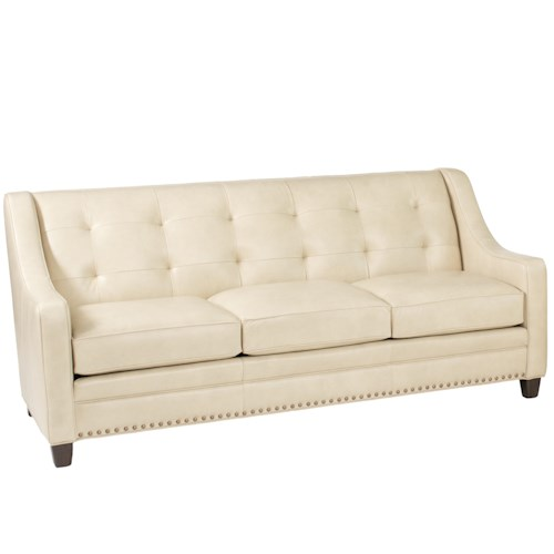 Smith Brothers 203L Transitional Sofa With Tufting