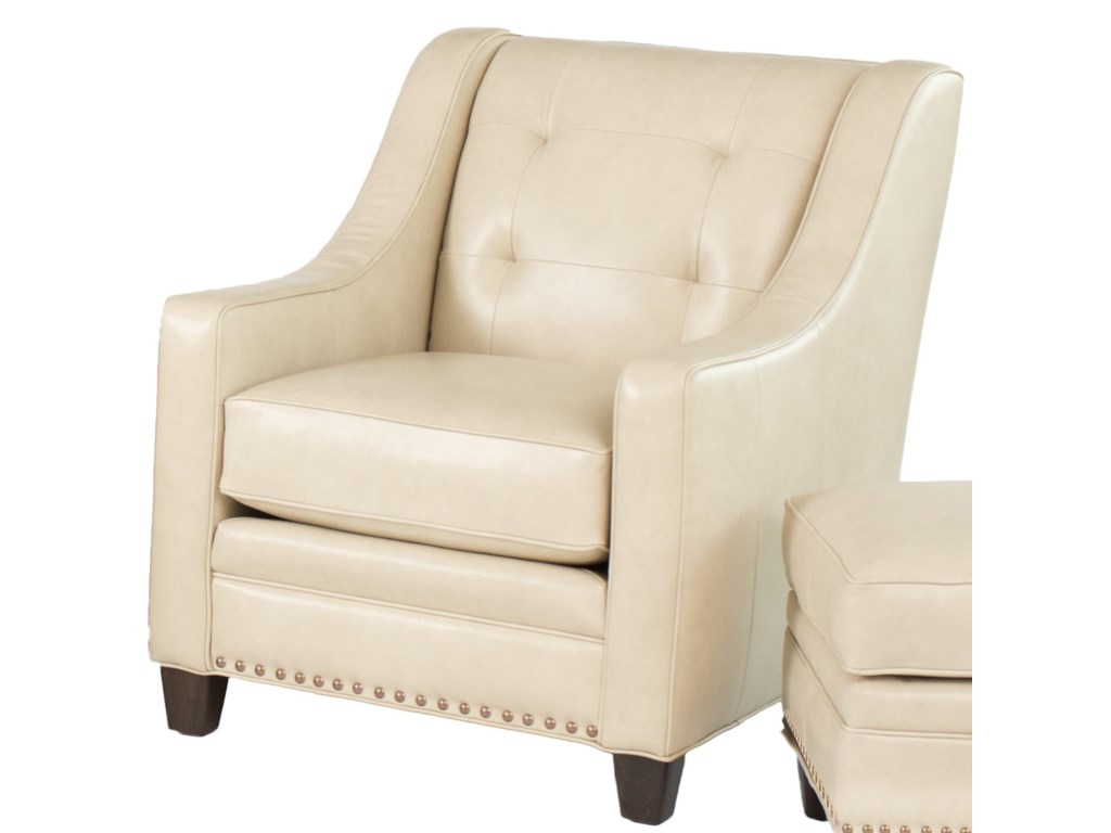 Smith Brothers 203LTransitional Stationary Chair
