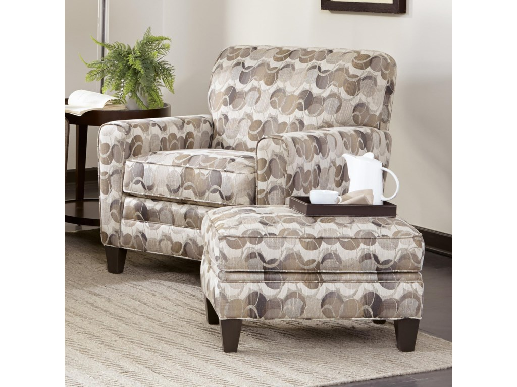 Smith Brothers 225Chair & Ottoman Set