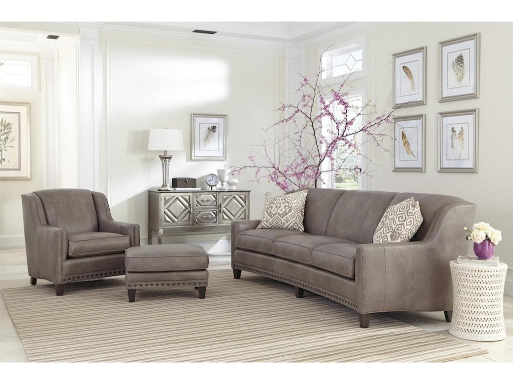 Smith Brothers 227Stationary Sofa