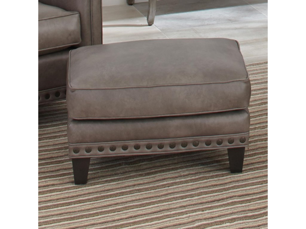 Smith Brothers 227Upholstered Ottoman